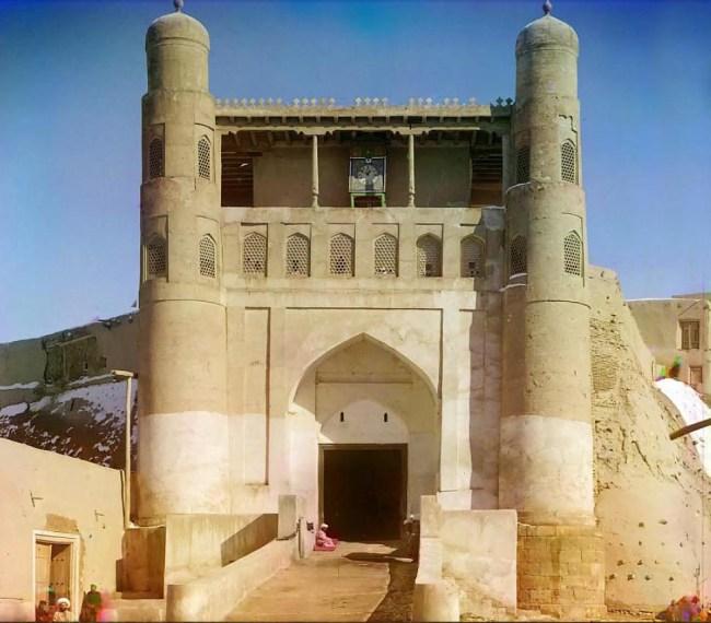 Cytadela Emira Buchary - zniszczona przez armię bolszewicką w 1920 r..