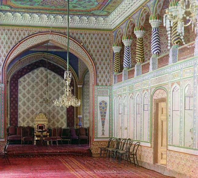 Pałac Shirbudun, Buchara, Uzbekistan