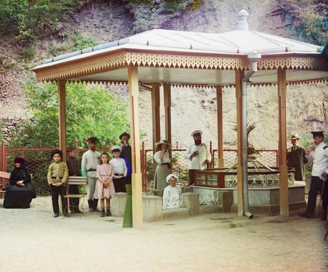 Bordżomi (Gruzja)  Modne wówczas sanatorium