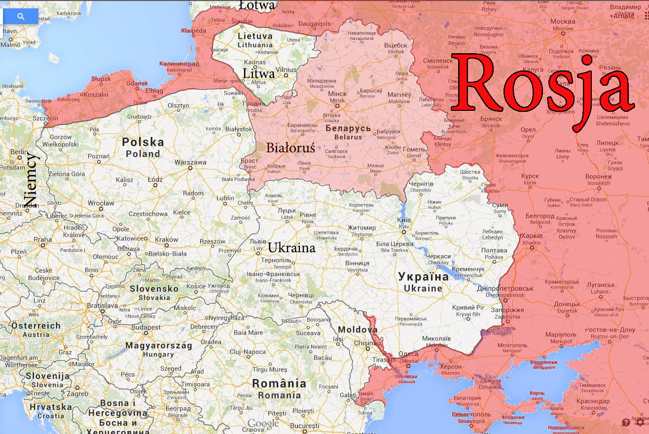 Mapa Europy Anno Domini 202x Czyli Kiedy Polska Straci Dostep Do