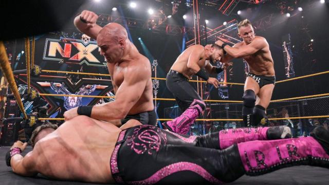 Breezango and Imperium fight it out