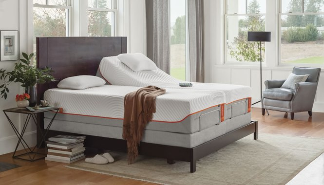 Tempurpedic Reinvented Mattress Adjule Beds From