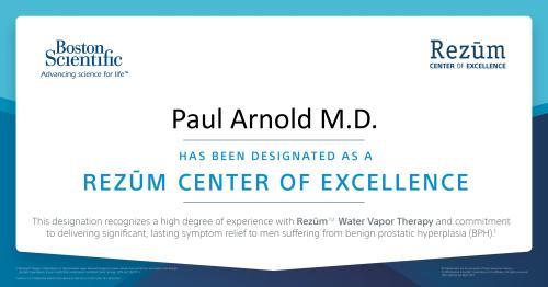 Paul Arnold Rezum Center of Excellence