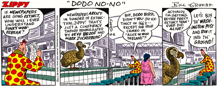 Comic strip on linguistics
