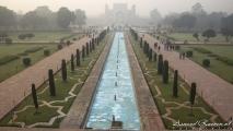 Uitzicht vanaf de Taj Mahal op de South Gate