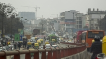 De chaos van Delhi
