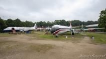 Vickers Viscount 806  (G-APIM) #L  & Vickers Vanguard 953C (G-APEP) #R