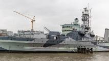 HMS Belfast - Panorama