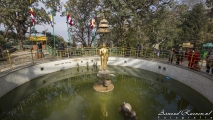 Swayambhunath, World Peace Pond