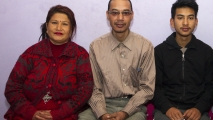 Sarina, Rajendra & Sajen