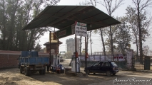 Nepalees tankstation