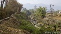 De weg naar Devi's Falls
