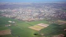 Bollenvelden, Castricum & de schaduw van de 747