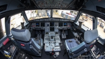 American Airlines - Airbus A321 cockpit