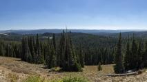 Washburn Hotsprings Overlook - overdag