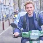 E-scooter van Felyx