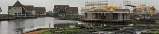 Watervilla's in de blubber