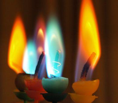 Interpretar la llama