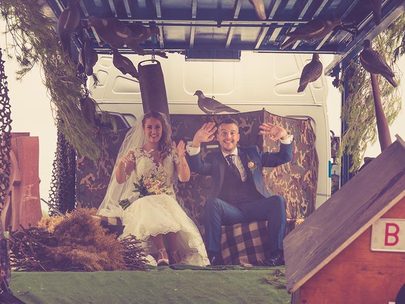 Fotos divertidas de boda