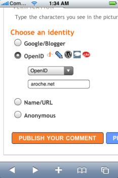 OpenID en Blogger