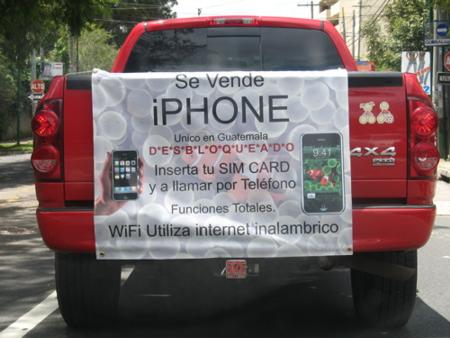 iphone desbloqueado en guatemala - anuncio