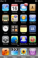 iPod Touch 2.0 - Home Screen