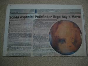 Noticas desde Marte - Prensa Libre
