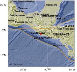 Temblor en Guatemala - 2008/01/04