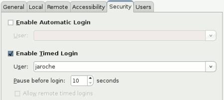 Inicio automático de sesión en Ubuntu
