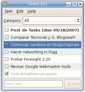 Ubuntu - Tasks
