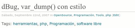 Wordpress.com Plantilla Tarski Tags