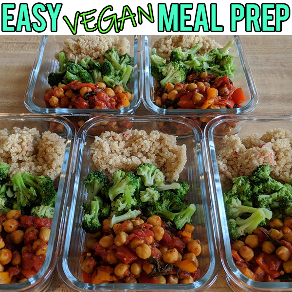 Beste EASY VEGAN MEAL PREP - A Rockin Vegan RQ-14