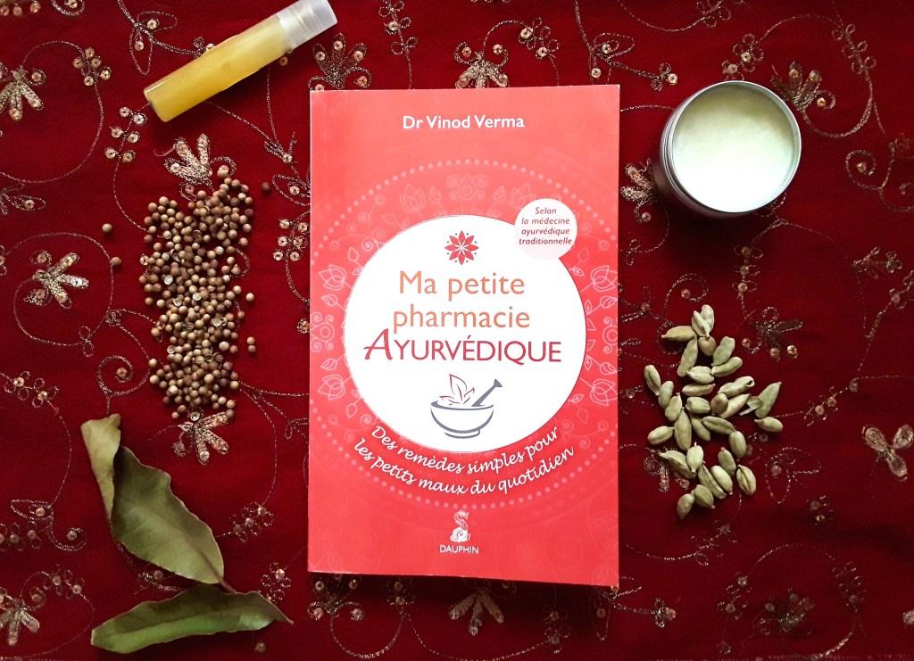 livre ma petite pharmacie ayurvédique