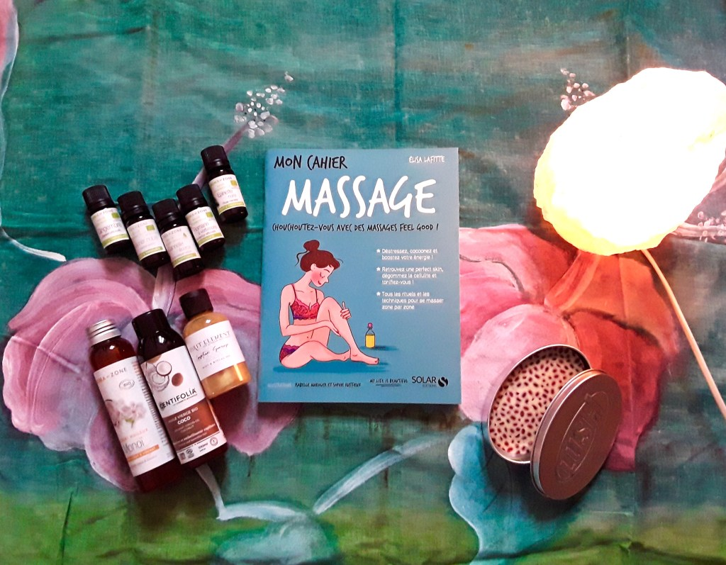 livre Mon cahier Massage