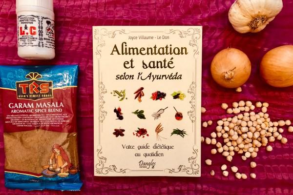 livre alimentation et santé selon l'ayurveda