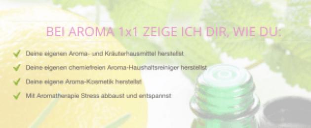 Bei AROMA1x1 zeige ich dir wie du...