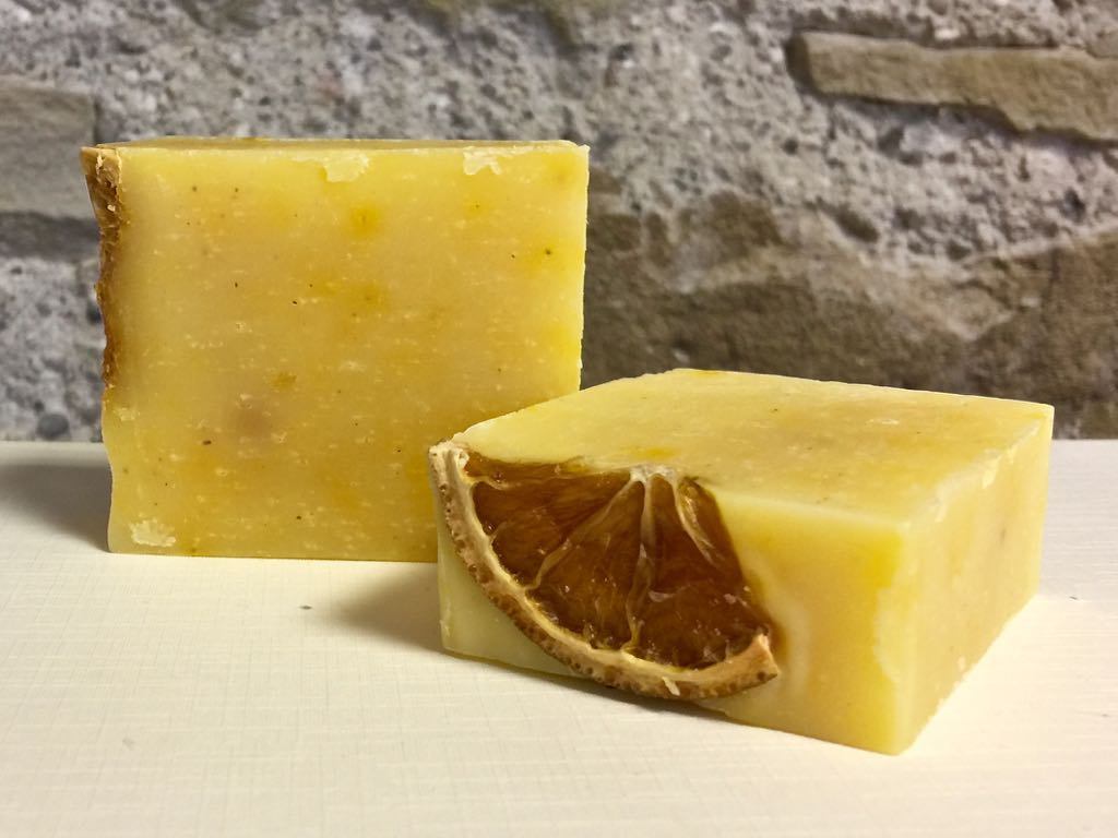 Fresh Butter Soap Orange