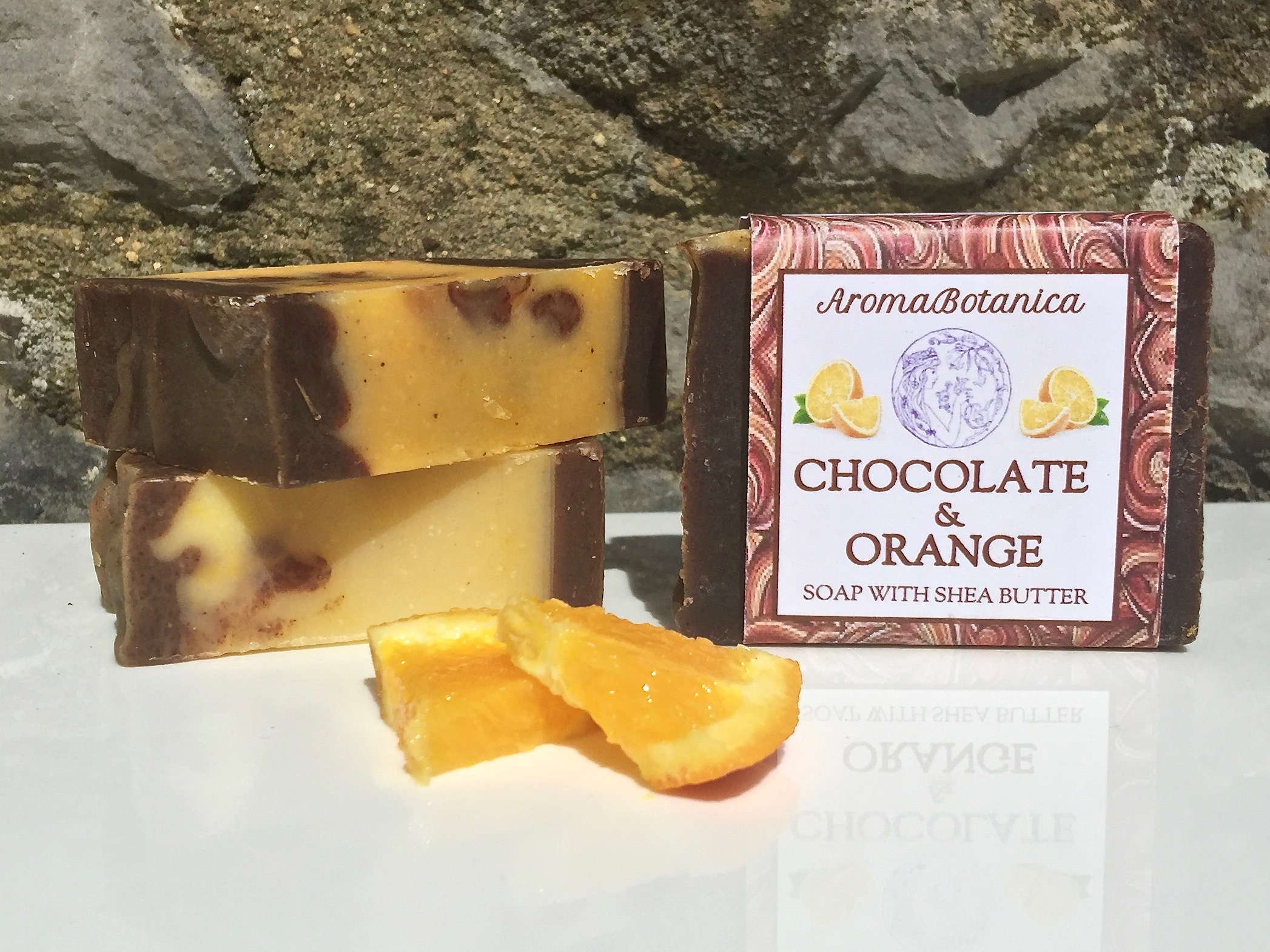 Shea Butter Soap – Chocolate & Orange