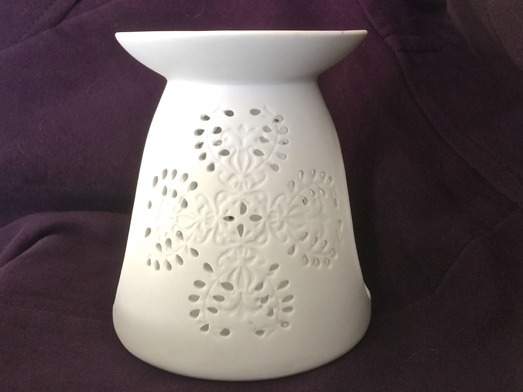 Oil Burner Floral Design