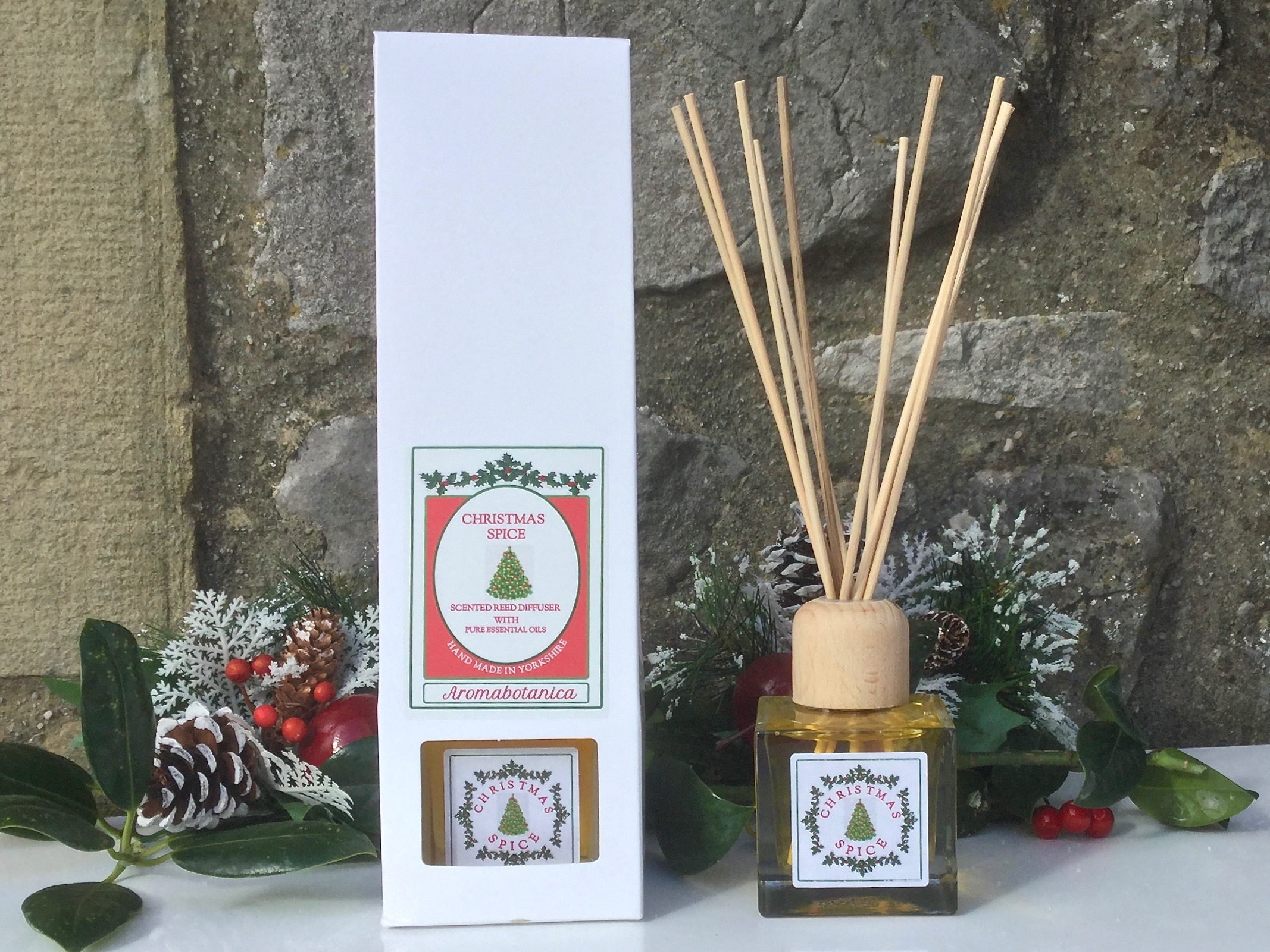 Christmas Spice Pure Essential Oil Reed Diffuser