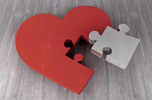 heart puzzel