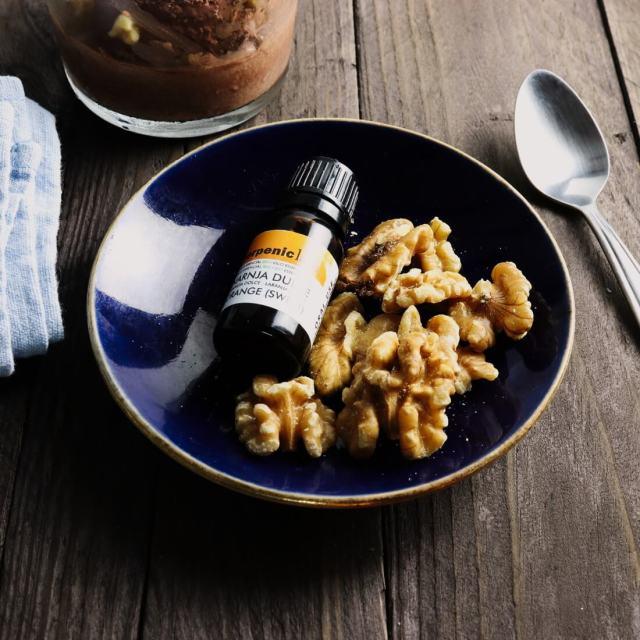 Pouřžití esenciálního oleje v kuchyni