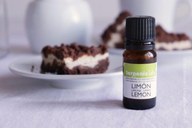 Esenciální olej citron od Terpenicu - 100% přírodní zdravé aroma do jídla