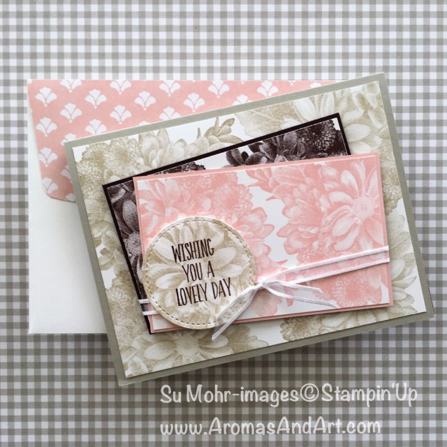 By Su Mohr for GDP130 and TGIFC151: Click Visit to go to my blog for details; Featuring Heartfelt Blooms; #birthdaycards #heartfeltblooms #gdp130 #tgif151 #stampinup