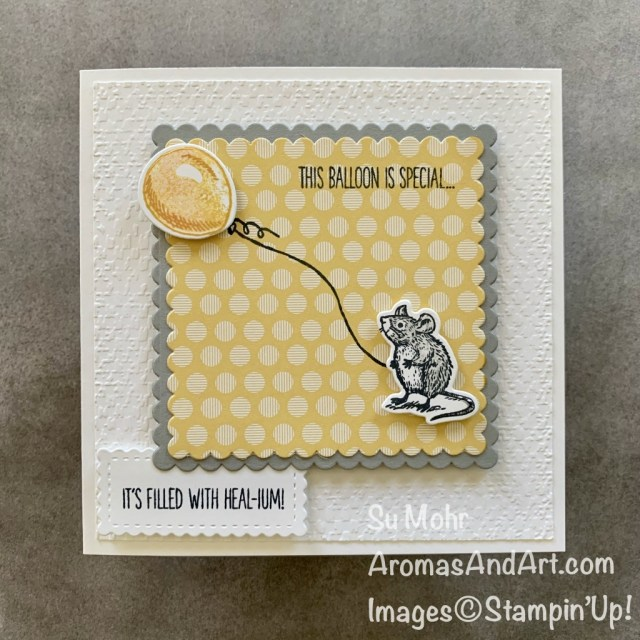 By Su Mohr for FMS; Click READ or VISIT to go to my blog for details! Featuring: Special Someone Stamp Set, Special Day Dies, Layering Squares Dies, Stitched So Sweetly Dies, Subtles 6X6 DSP; #specialsomeone #mouse #mouseonacard #mice #getwellcards #squarecards #cardinstructions #handmadecards #handcrafted #diy#cardmaking #papercrafting #stampinup #cardsketches