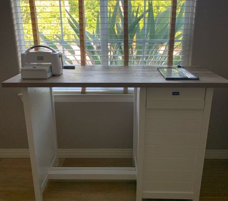 Counter Height Desk/Table *Card Maker's Dream*
