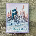 By Su Mohr for GDP 257; Click READ or VISIT to go to my blog for details! Featuring: Snow Wonder Bundle, Feeld Like FRost DSO, Metallic Mesh Ribbon; #christmascards #holidaycards #snowman #snowmen # snowmenoncards #Feelslikefrost #frosty #frostythesnowman#handmadecards #handcrafted #diy #cardmaking #papercrafting #stampinup #holiday2020