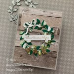 By Su Mohr for #gdp262; Click READ or VISIT to go to my blog for details! Featuring: In Good Taste Designer Paper, Forever Greenery Designer Paper, Wreath Builder Dies, Sounds Of The Season Dies, Itty Bitty Christmas; #christmascards #holidaycards # holiday2020 #wreaths #wreathsoncards #christmaswreaths #handmadecards #handcrafted #diy #cardmaking #papercrafting #cardsketches #cardchallenges