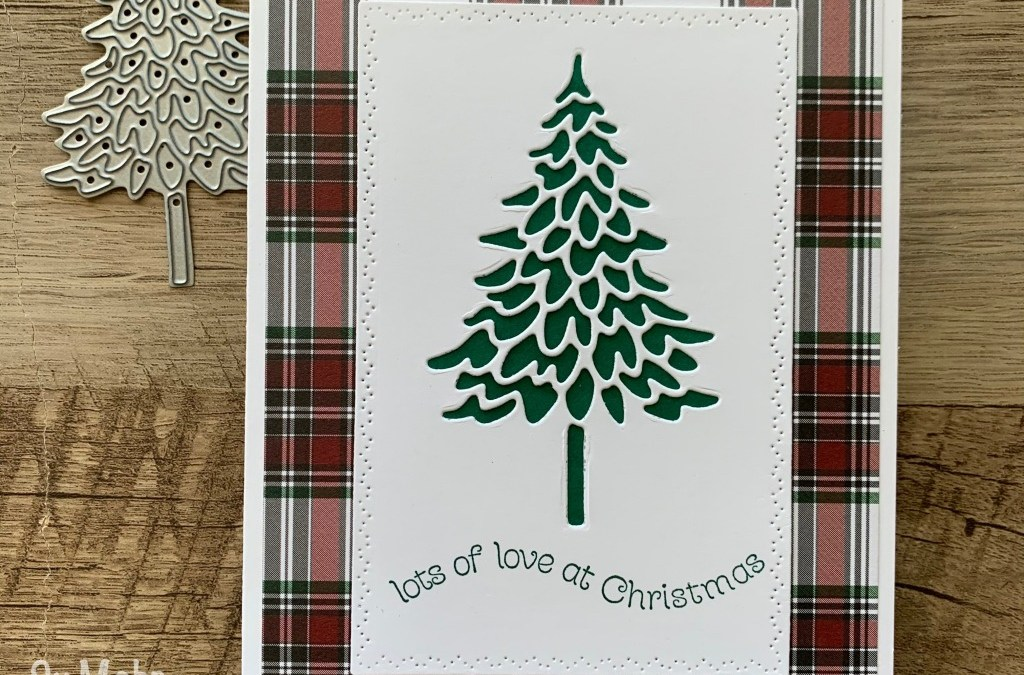 Pine Woods and Plaid Christmas Cards