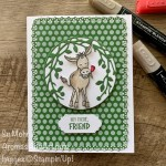 By Su Mohr; Click aromasandart to go to my web site for details! Featuring: Darling Donkeys Stamp Set, Bird & More Dies, layering Circles Dies, Ornate layers Dies, Ornate Frames Dies; #darlingdonkeys #donkeys #donkeysoncards #sale-a-bration2021 #birds&more #ornatelayers #ornateframes #handmadecards #handcrafted #diy #cardmaking #papercrafting #sumohr #aromasandart #friendshipcards